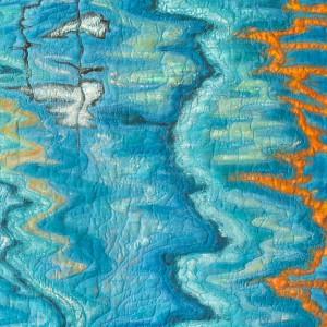 Reflets d'eau_73 x 128 cm_2014