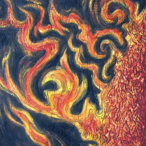 Sun eruption I_60 x 120 cm_2014